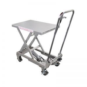 बीएसए 10 अल्युमिनियम / मॅन्युअल सीझन स्टेनलेस स्टील लिफ्ट टेबल