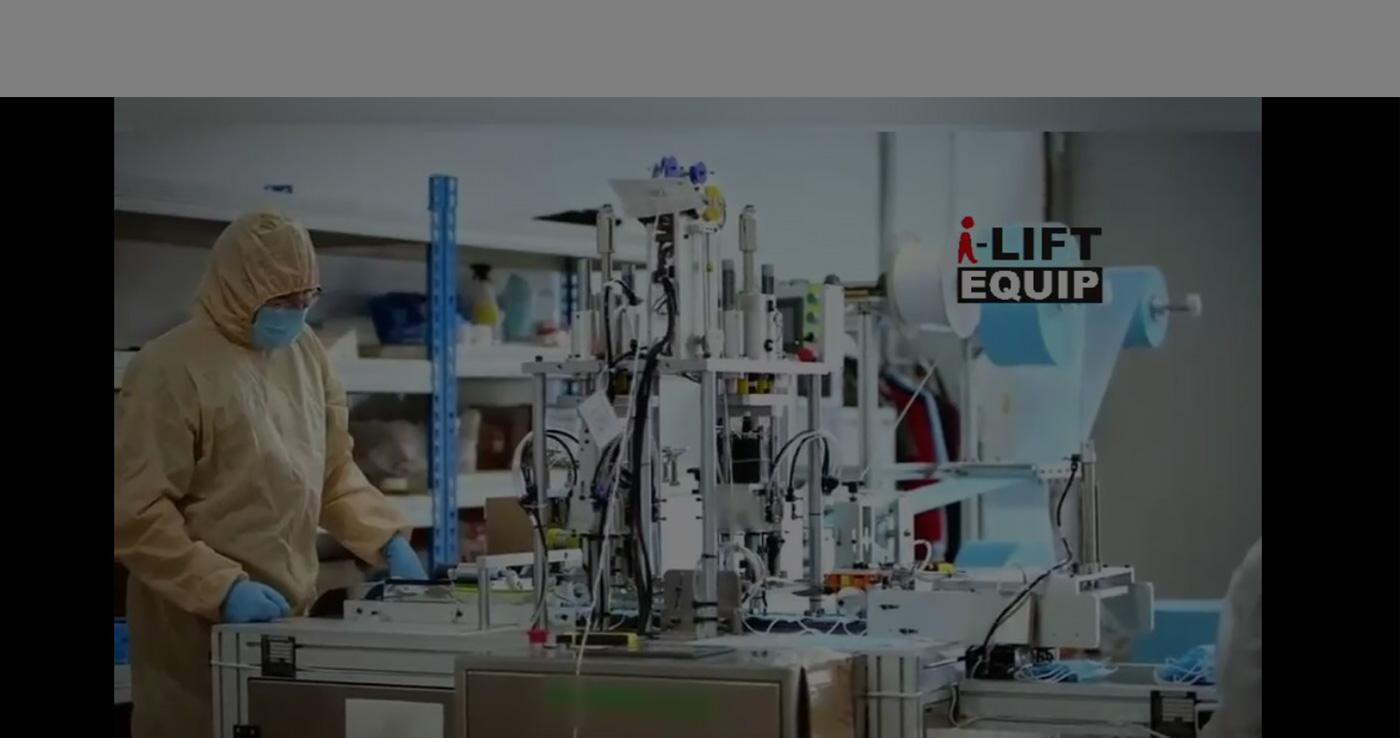 टर्न-की प्रकल्प स्वयंचलित मुखवटा बनविणे मशीन