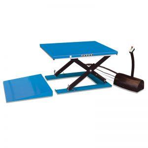 HY1001 लो प्रोफाइल इलेक्ट्रिक लिफ्ट टेबल