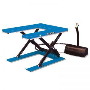 """HU1000 """"U"""" आकार लो प्रोफाइल स्थिर लिफ्ट टेबल"""
