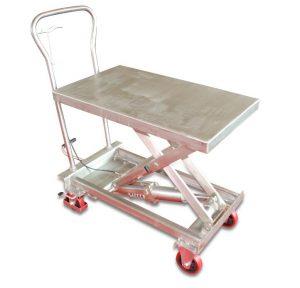 बीएसएस 10 स्टेनलेस स्टील लिफ्ट टेबल