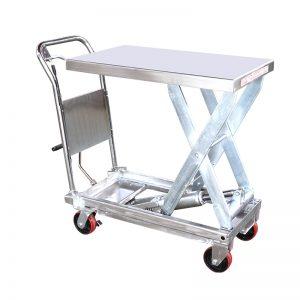 वायएसजी 35 डी स्टेनलेस स्टील लिफ्ट टेबल